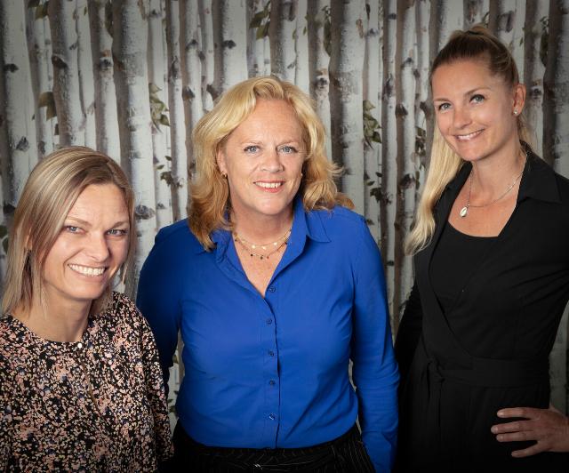 Isabelle Leenhouwers, Cora Zaaijer en Mirjam de Jong